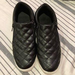 Brash Girls Quilted Style Black Shoes